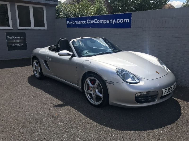 View PORSCHE BOXSTER 987 987 S 3.2 S 24V Only 64000miles FSH 19 Alloys Heated Leather
