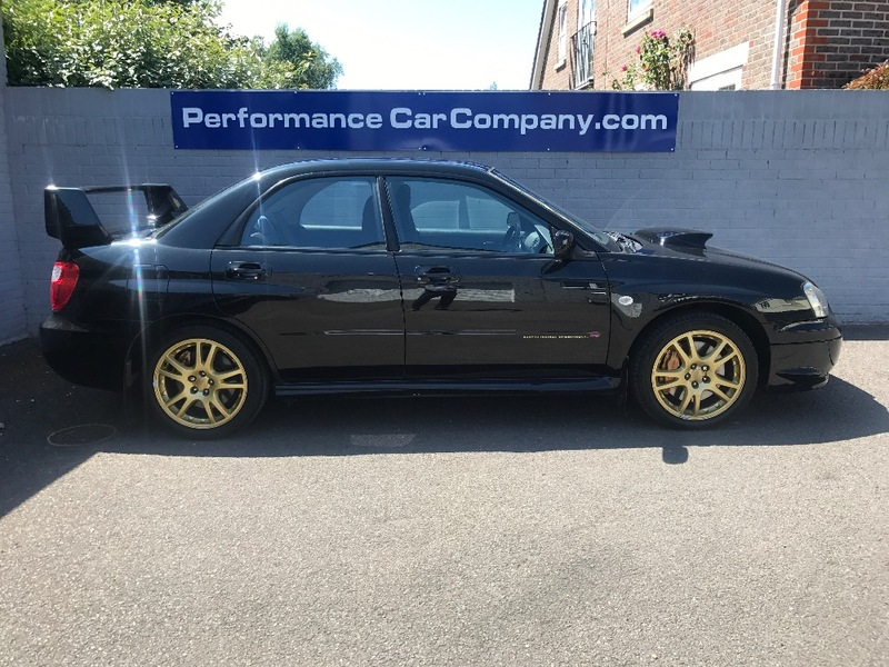 View SUBARU IMPREZA WRX STI TYPE UK PPP 64000 miles FSH Prodrive Performance Pack 305 BHP