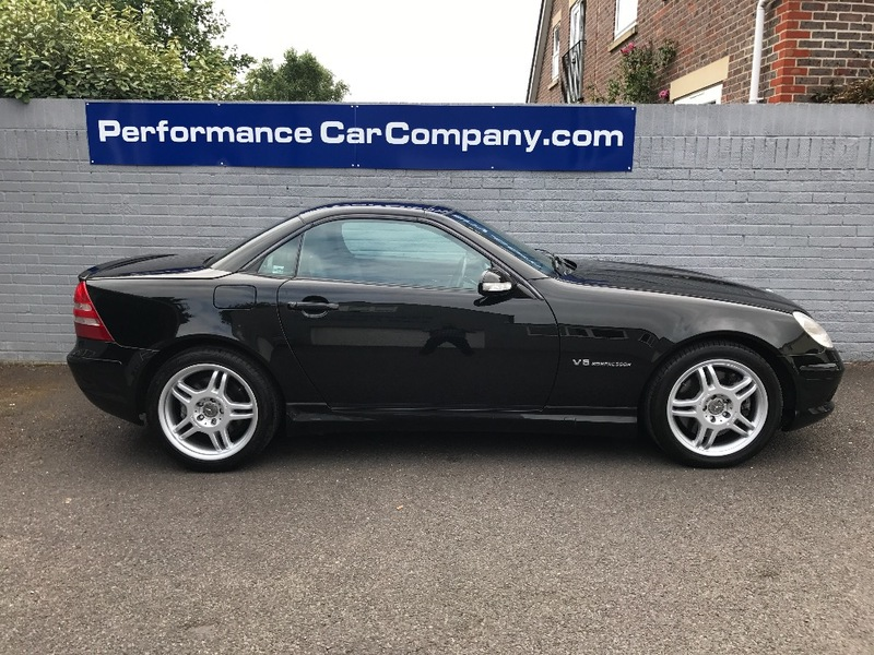 View MERCEDES SLK SLK32 SLK 32 AMG Only 34000 miles FSH Rare Black SLK32 Leather AC
