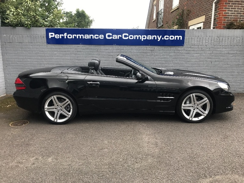 View MERCEDES SL CLASS SL350 SL 350 FMSH Dealer 19 Alloys Panoramic Roof