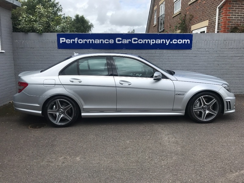 View MERCEDES C CLASS C63 AMG Only 46,000 miles FMSH Black Leather Command Satellite Navigation Stunnin6