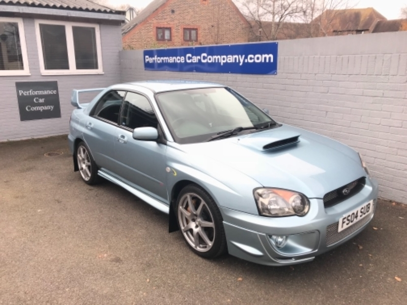 View SUBARU IMPREZA 2.0 WRX STi WR1 1 of 500 made Only 48000 miles FSSH Stunning Rare Car