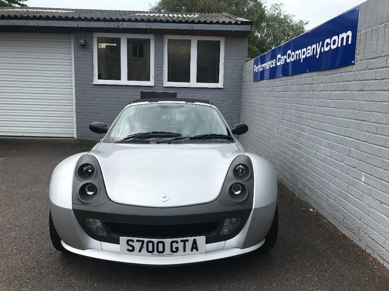 View SMART ROADSTER BRABUS Coupe Only 19645 miles FSSH Dealer 2 Owners from New