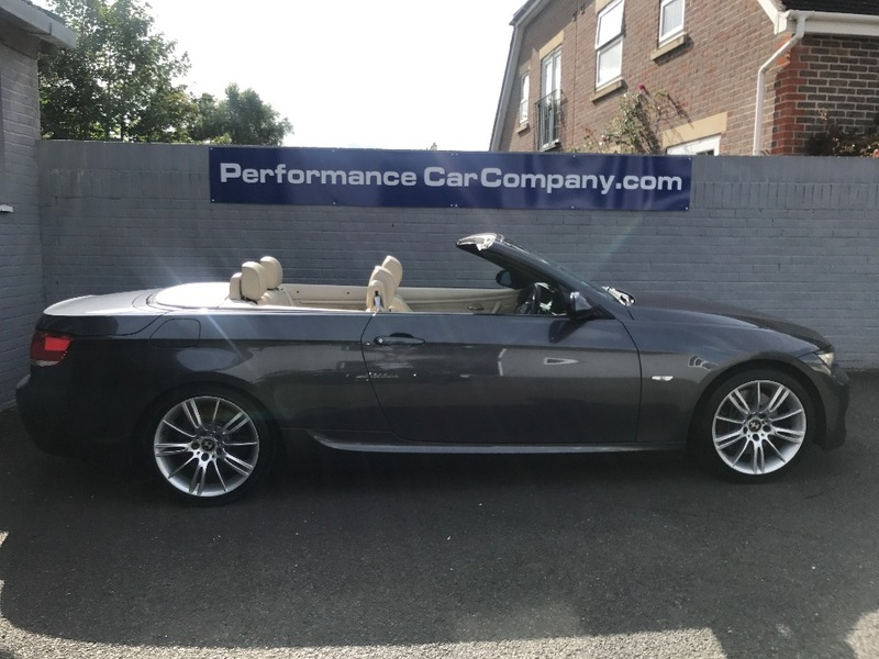 View BMW 3 SERIES 330I 330i M SPORT Auto Convertible 60000miles FSH Leather Sat Nav Comfort Access
