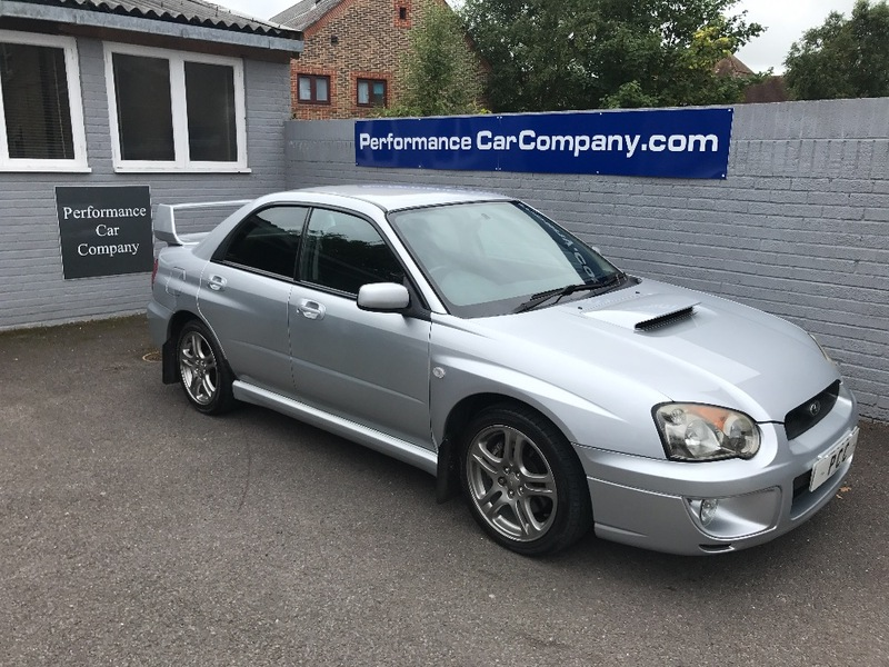 View SUBARU IMPREZA WRX 2.0 TURBO 44000miles FSH Inc Big Service and Cambelt