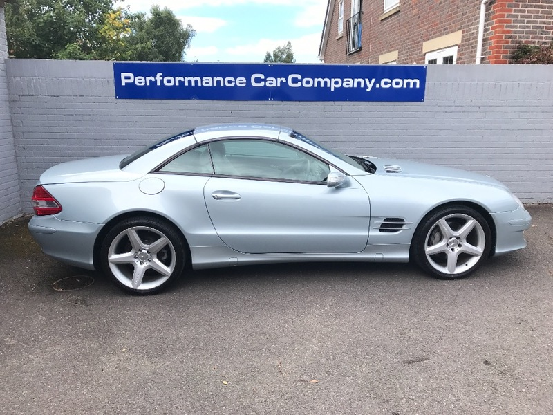 View MERCEDES SL CLASS SL350 Tellur Silver Only 62000 miles FMSH 19 Alloys Stunning