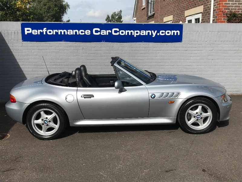 View BMW Z3 ROADSTER 2.8 AUTO WIDE BODY only 48000 miles FSH Leather Heated Seats