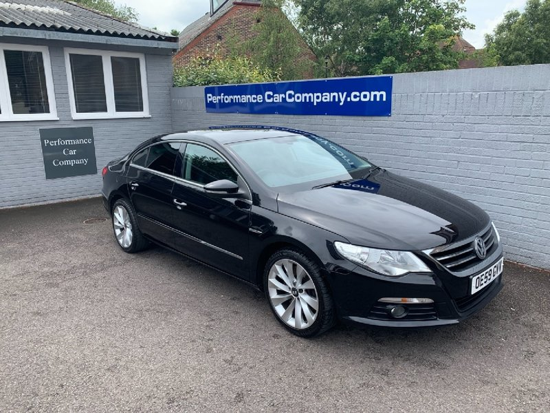 View VOLKSWAGEN CC CC 3.6 GT FSI V6 4MOTION DSG 68000 miles FSH Black Leather Rare Car