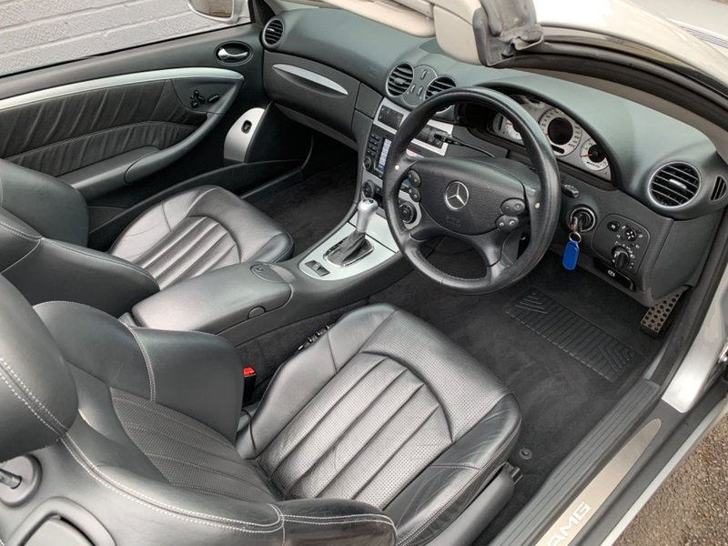 View MERCEDES CLK CLK55 CLK 55 AMG 73000 miles FSH Very Rare Full Leather Very High Spec