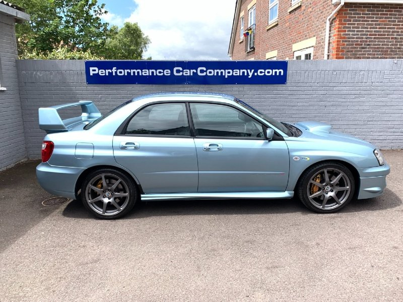 View SUBARU IMPREZA  WRX STi WR1 1 of 500 made 74000 miles FSH Stunning Standard WR1 Previously Supplied by Us