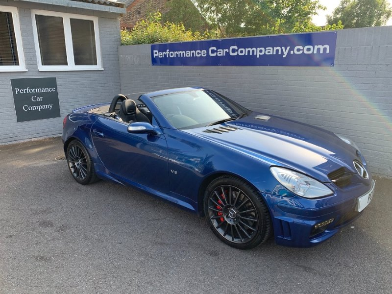 View MERCEDES SLK SLK55 AMG 68000miles FSH Fantastic Spec and Colour Combination