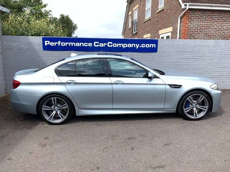 View BMW M5 V8 DCT Auto 48000miles FBMWSH Great Spec with 20 Alloys HUD BOSE