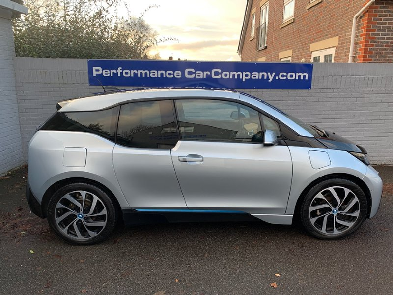 View BMW i3 I3 eDrive Range Extender REX 40000 miles FSH Leather N0WS0LD-MORE REQUIRED