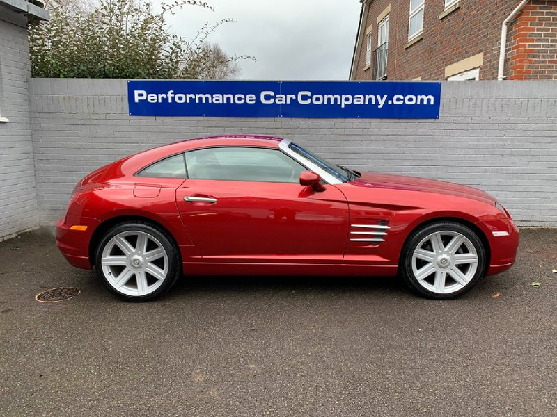 View CHRYSLER CROSSFIRE 3.2. V6 Only 8885 miles from New Must be one of the best Crossfires left