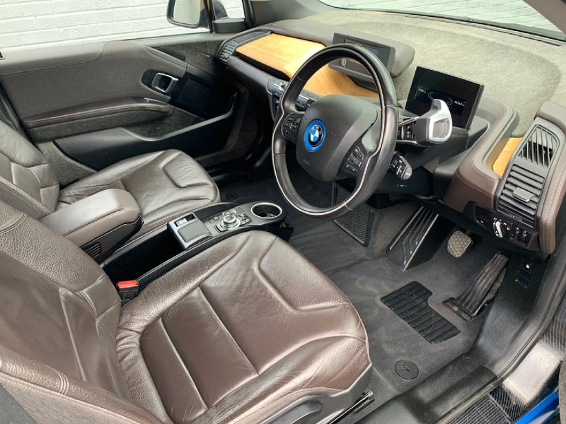 View BMW i3 Range Extender 60Ah Auto 32000miles FBMWSH 1 Owner Leather World Suite 20 Alloys