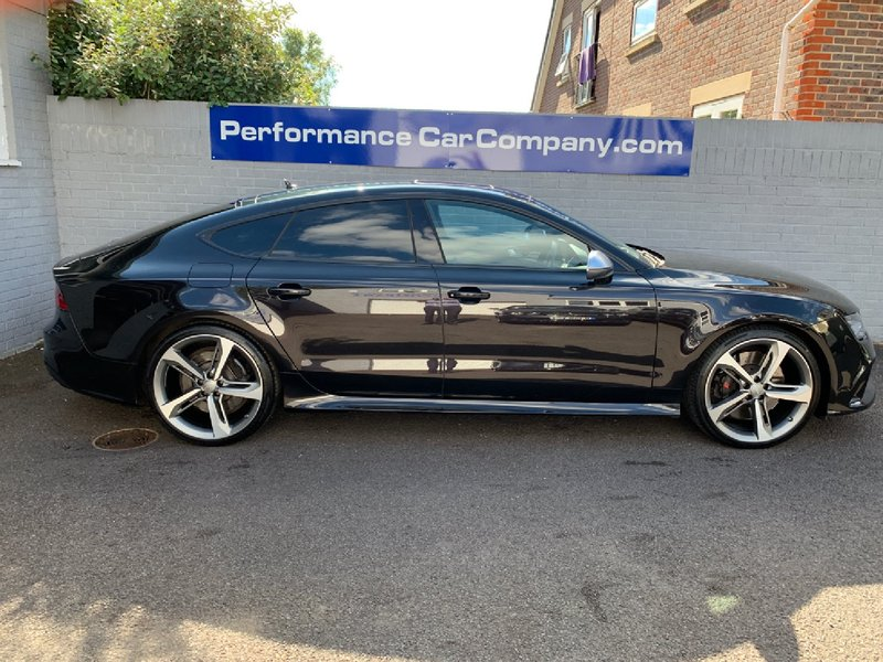 View AUDI RS7 TFSi V8 Bi-Turbo Quattro Auto 48000miles FSH 2 Owners Fantastic Specification