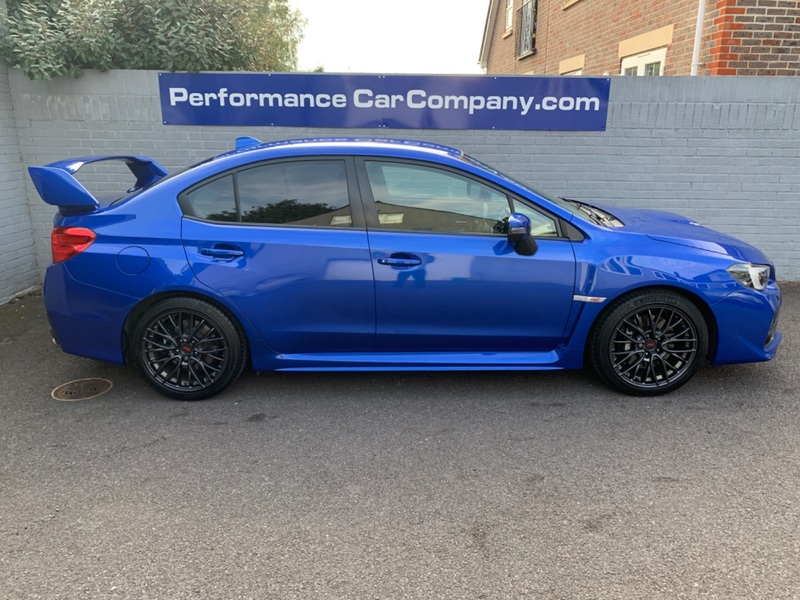 View SUBARU WRX STI TYPE UK Only 33000 Miles with FSH Stunning Car