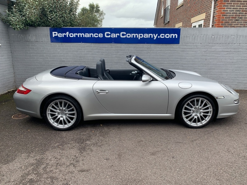 View PORSCHE 911 MK 997 CARRERA 2 Convertible 34000 miles FSH 6 Speed Manual Stunning 997