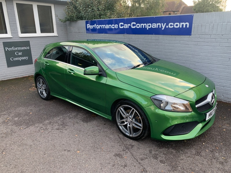 View MERCEDES A CLASS A 200 AMG LINE EXECUTIVE 1 Owner 38000miles FSH 7G-DCT Exec Pack