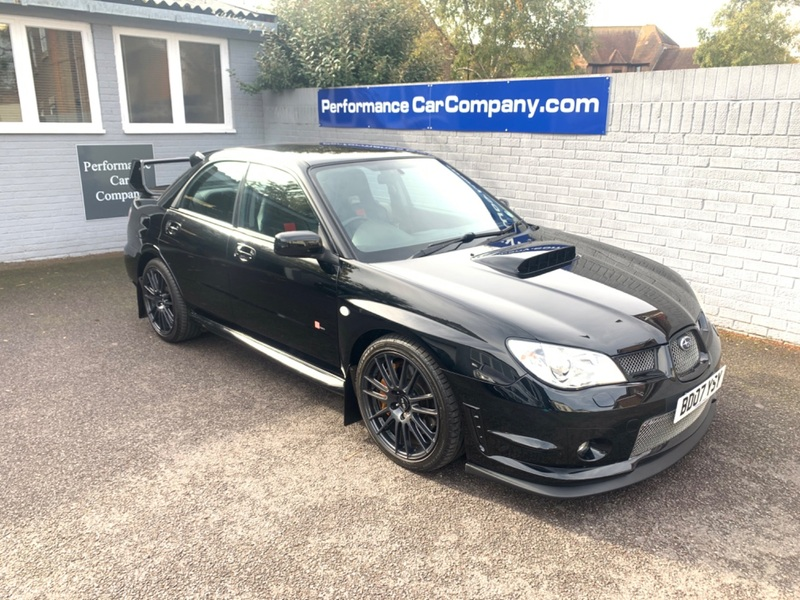 View SUBARU IMPREZA WRX STI STi RB320 58000 miles FSH Full Leather Sat Nav Forged Engine Rare Car