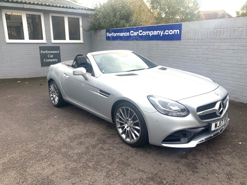 View MERCEDES SLC SLC 200 AMG LINE Auto Only 9959 miles FMSH 1 Owner High Spec