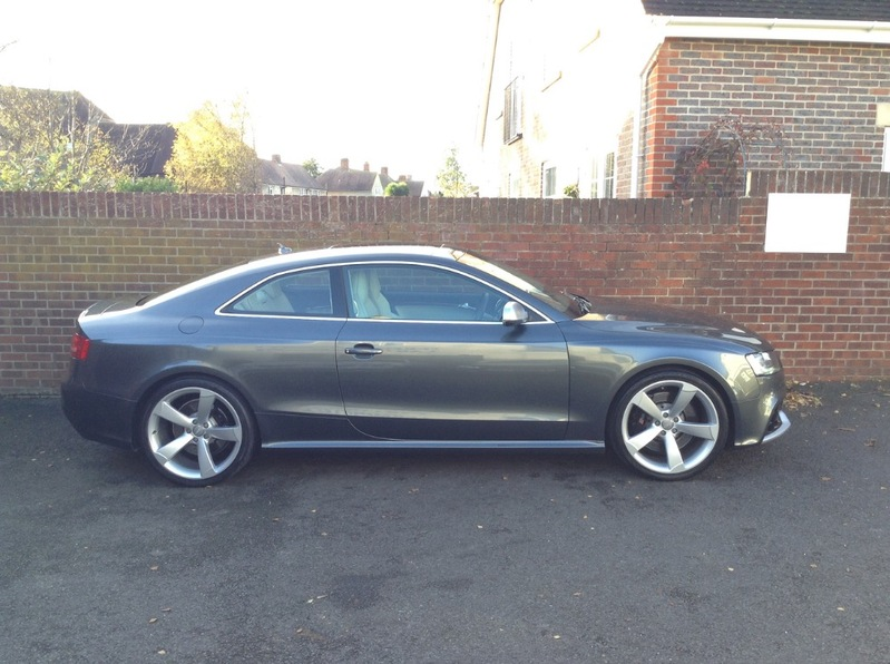 View AUDI A5 RS5 FSI QUATTRO 38000miles FASH High Spec inc Glass Roof