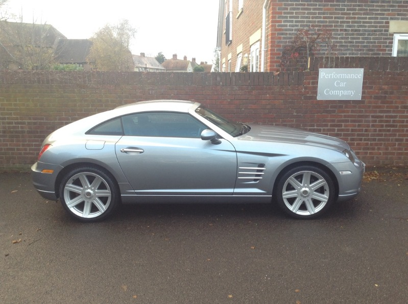 View CHRYSLER CROSSFIRE 3.2 V6 Auto Only 37000miles FSH Leather AC