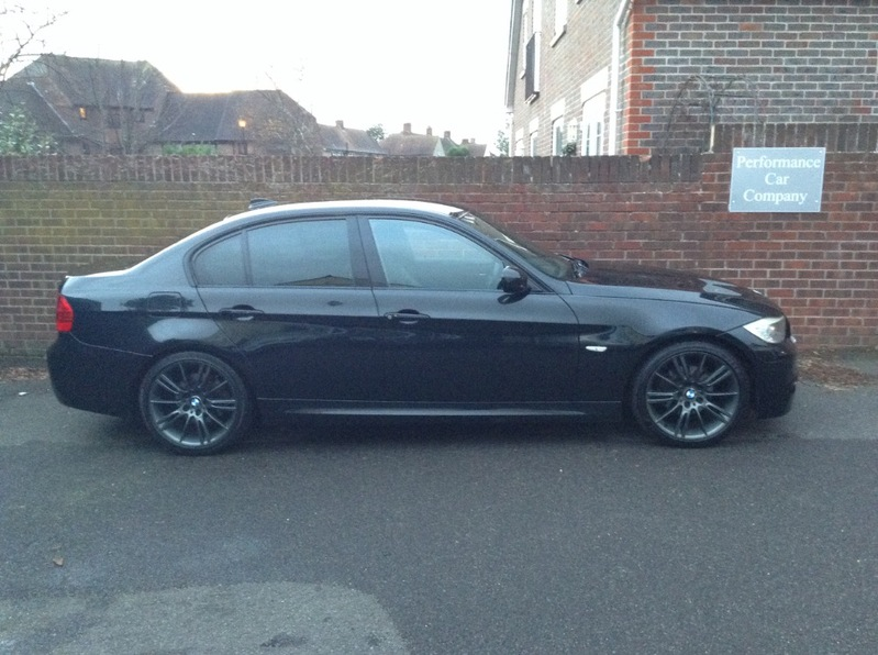 View BMW 3 SERIES 318D SPORT PLUS EDITION 2 Owners FSH Black Leather Cheap tax a