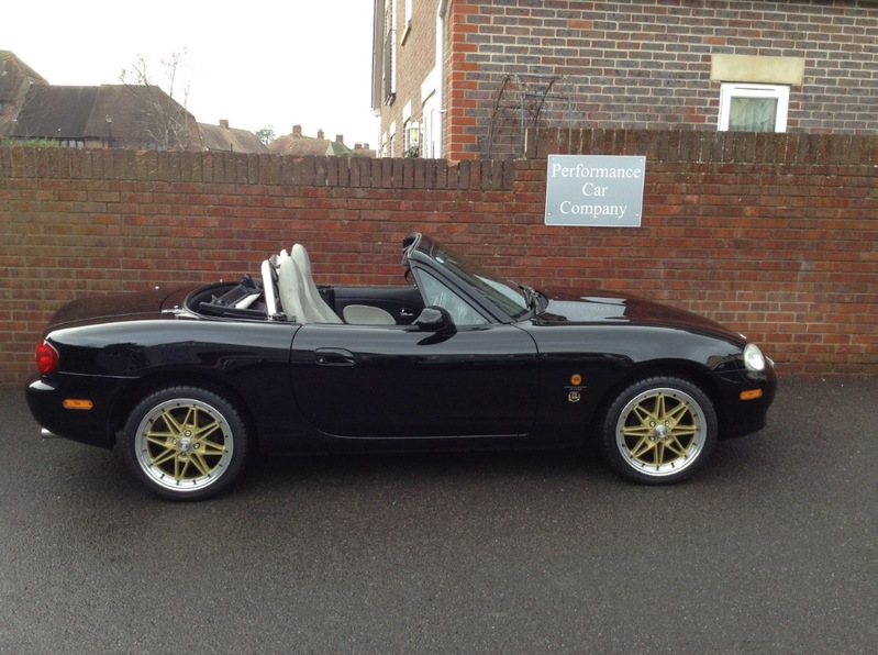 View MAZDA MX-5 TRILOGY Ltd Edition 1 of 333 made Only 40000 miles Full Service History