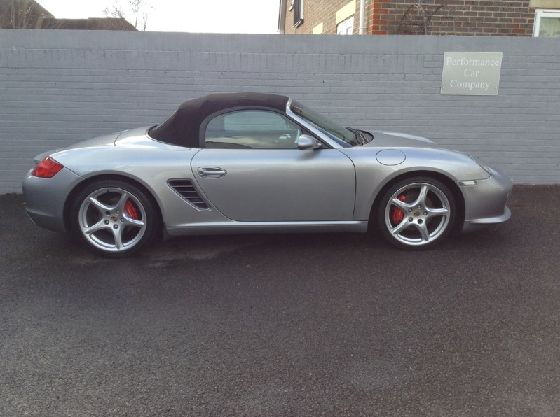 View PORSCHE BOXSTER 987 3.4S 3.4 S SPORT EDITION FPSH 63000miles PCM 19 Alloys Heated Leather