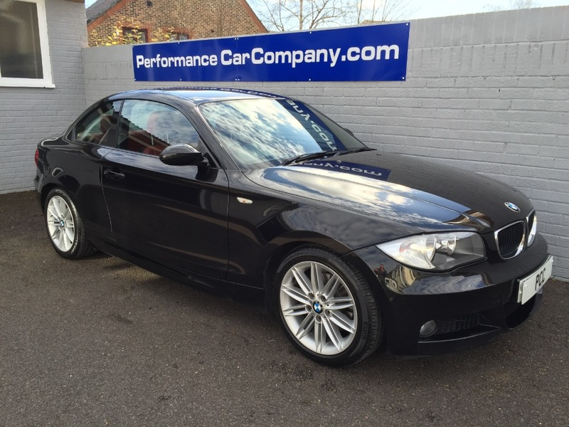 View BMW 1 SERIES 120D M SPORT 63000miles Dealer FBMWSH Heated Leather