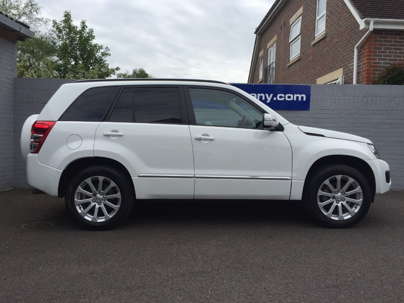 View SUZUKI GRAND VITARA SZ5 2.4 Auto Only 16000miles FSSH Full Heated Leather Sat Nav Sunroof