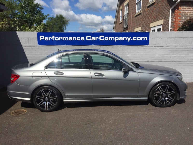 View MERCEDES C CLASS C250 CDI BLUEEFFICIENCY AMG SPORT PLUS 14000miles FMSH 1 Owner