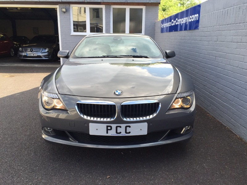 View BMW 6 SERIES 635D 635 d SPORT Auto Only 45000miles FBMWSH Dealer Black Heated Leather