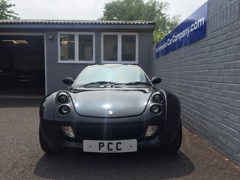 View SMART ROADSTER BRABUS COUPE FINALE EDITION 68000miles FSH Rare Car