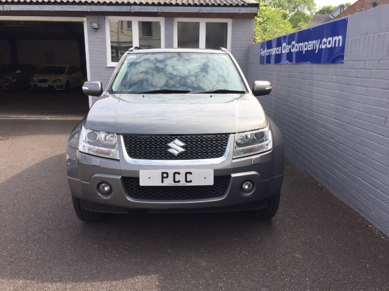 View SUZUKI GRAND VITARA SZ5 Auto Only 57000miles FSSH Black Leather Electric Sunroof