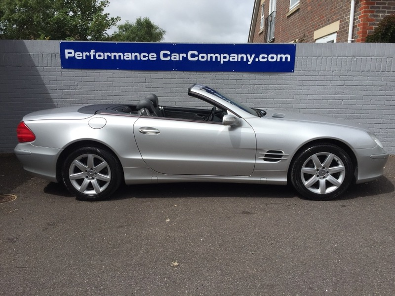 View MERCEDES SL CLASS SL350 SL 350 Only 48000miles FSH Panoramic Roof Command Sat Nav
