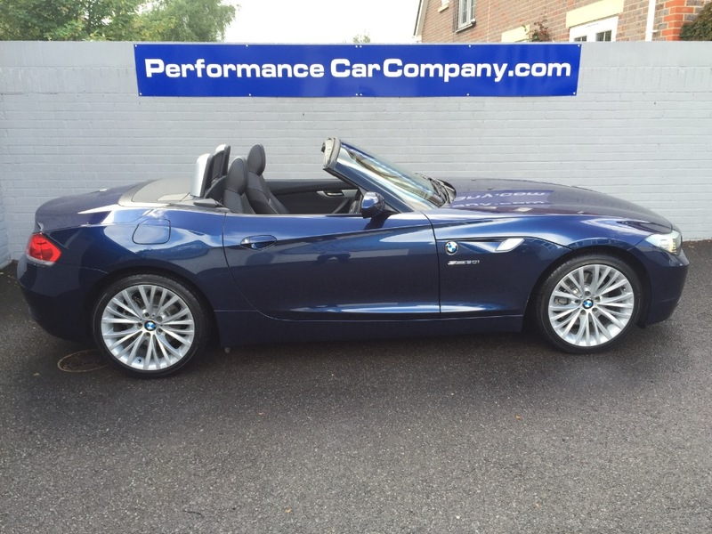 View BMW Z4 Z4 SDRIVE30I ROADSTER Only 12000miles FBMWSH 1 Owner Black Leather