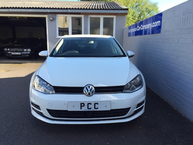 View VOLKSWAGEN GOLF 20 GT TDI BLUEMOTION TECHNOLOGY 1 Owner 29000 miles FVWSH Sat Nav 18 Alloys