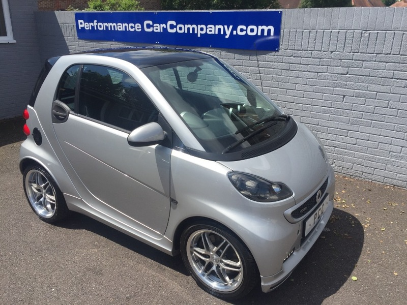 View SMART FORTWO BRABUS XCLUSIVE 14000miles FSSH Leather Sat Nav Panoramic Roof