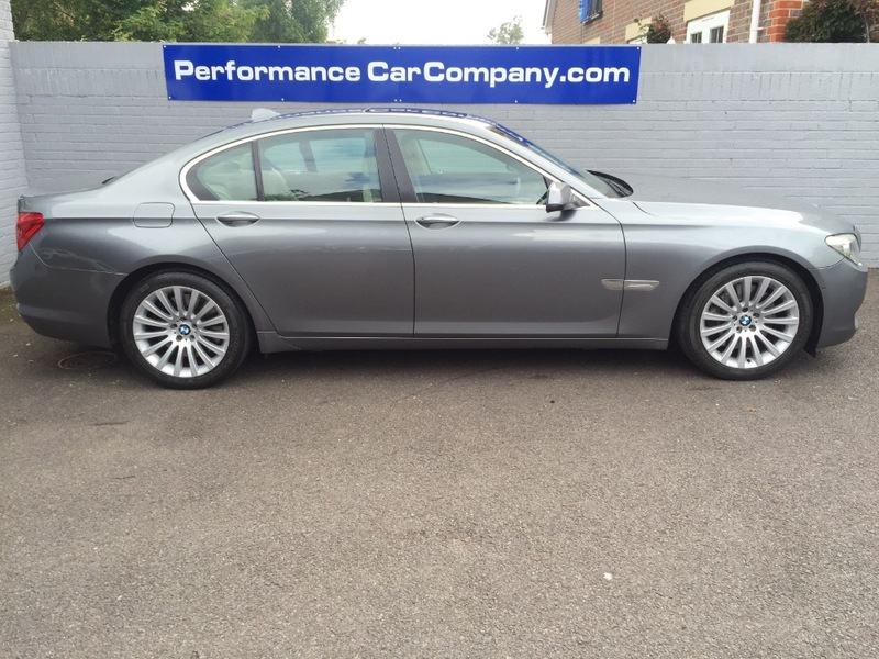 View BMW 7 SERIES 750i 750 Only 27000miles FBMWSH Massive Specification